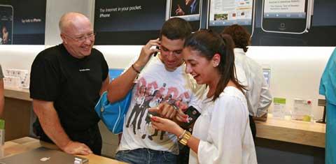 apple fans talking
