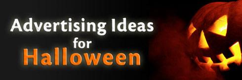 Halloween Advertising Pumpkin
