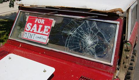 misleading car sale